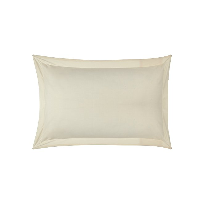 Oxford Cuff Pillowcase Pair White