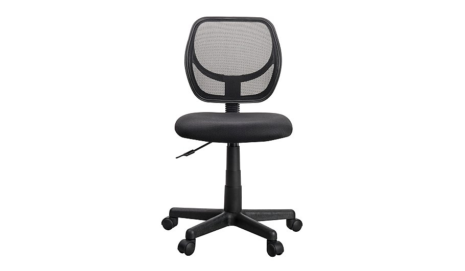 mesh office chair black furniture george