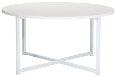 Ordinaire Irving Round Coffee Table   White | Furniture | George