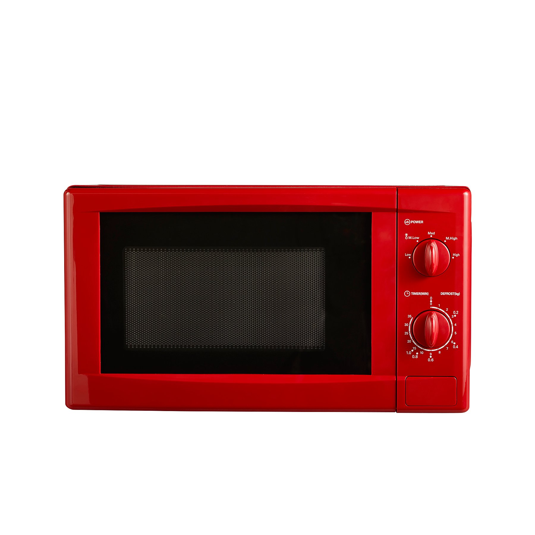 Manual Microwave Red Reset