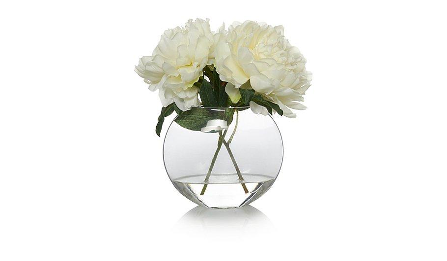 Artificial Peonies in Vase | Home & Garden | George