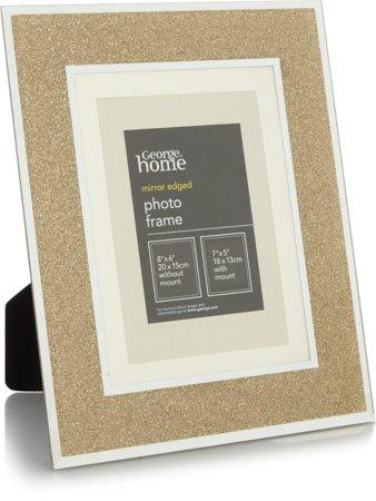 Gold Glitter Photo Frame Range