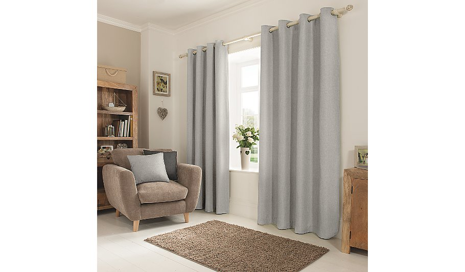 curtain grey curtains panel silver string fringe