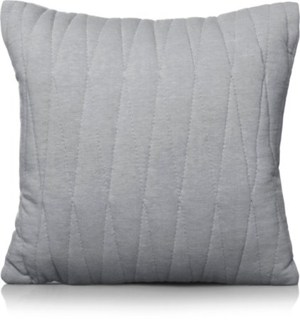 Quilted Grey Cushion & Throw Range
