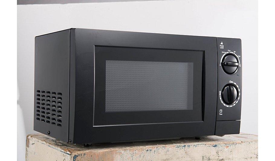 Manual Microwave Black Home Garden George
