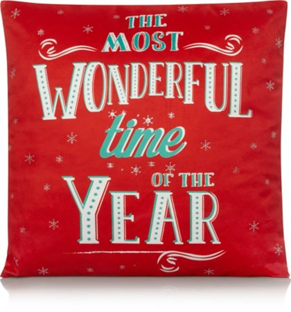 The Most Wonderful Time of The Year Cushion