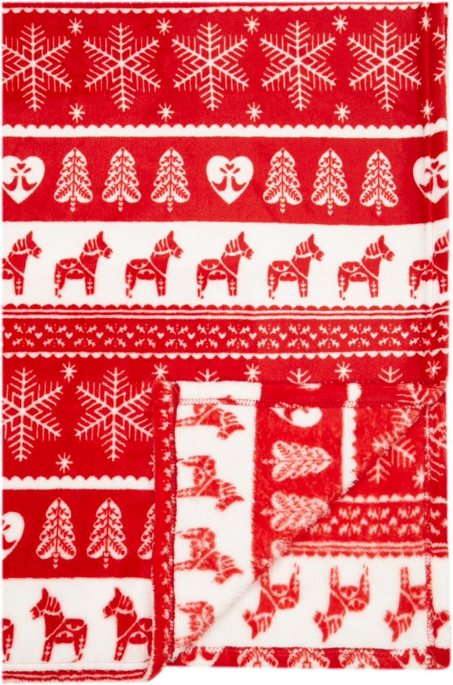 Festive Scandi Supersoft Throw Blankets & Throws