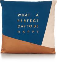 Slogan Cushion