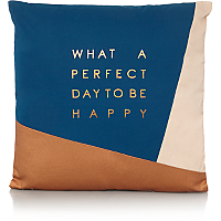 Slogan Cushion