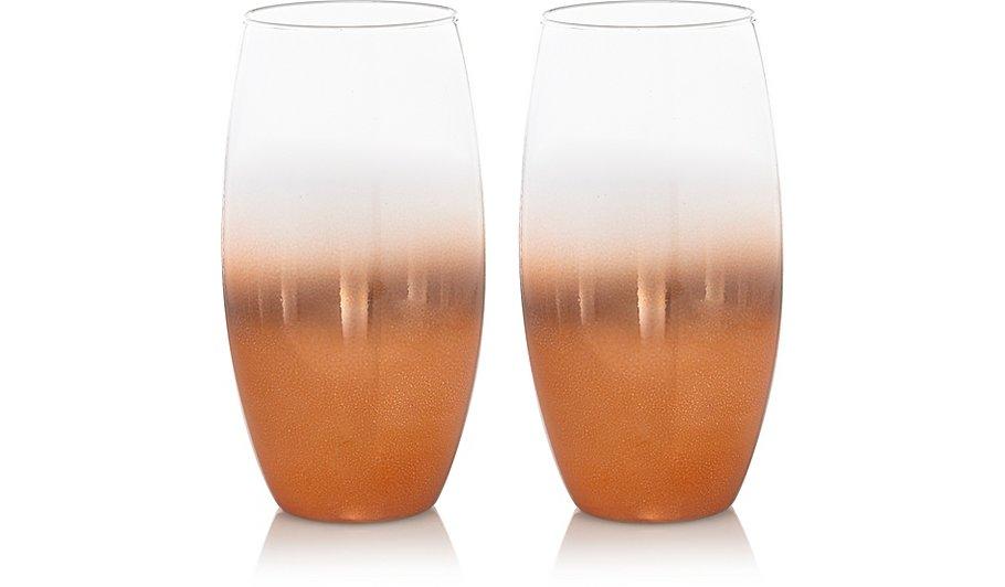 Copper Fade Effect Hi Ball Gles 2 Pack