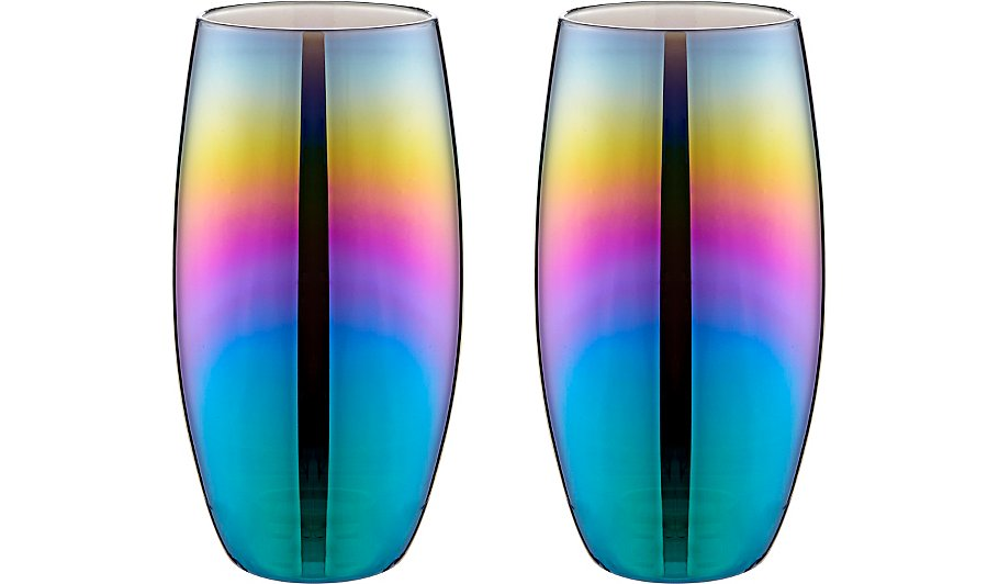 George Iridescent Glasses