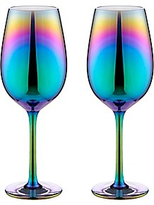 db6d9b16c793 Iridescent Wine Glasses 2-pack