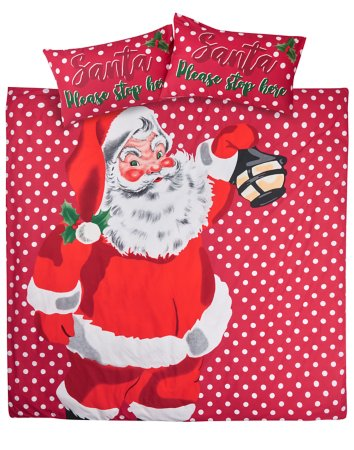 Christmas Santa Bedding Range