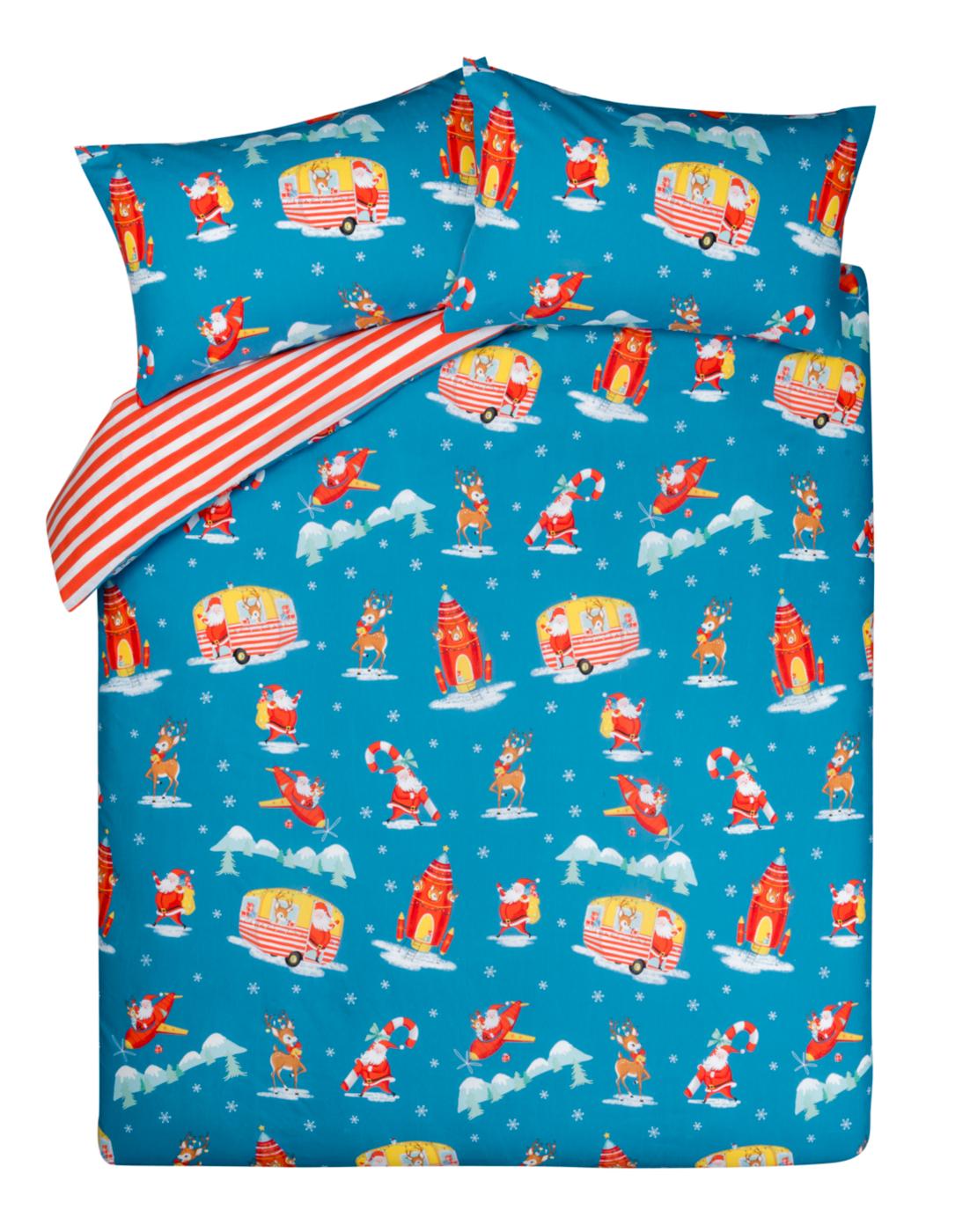 Santa Travels Bedroom Range Duvet Covers