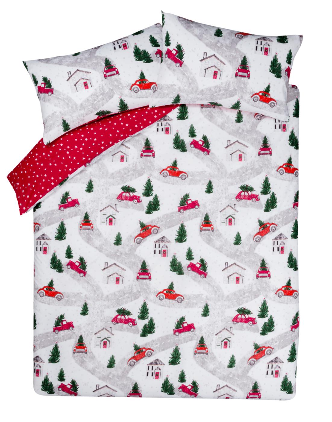 Christmas Cars Bedding Range Duvet Covers