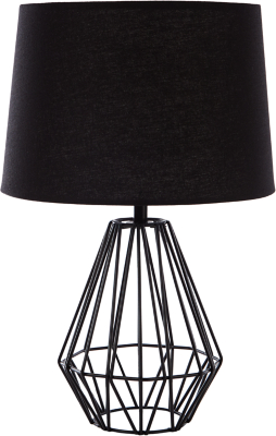 Wiring a lamp table residential electrical symbols wire table lamp black home garden george rh direct asda com wiring a table lamp diagram wiring a table lamp greentooth Choice Image