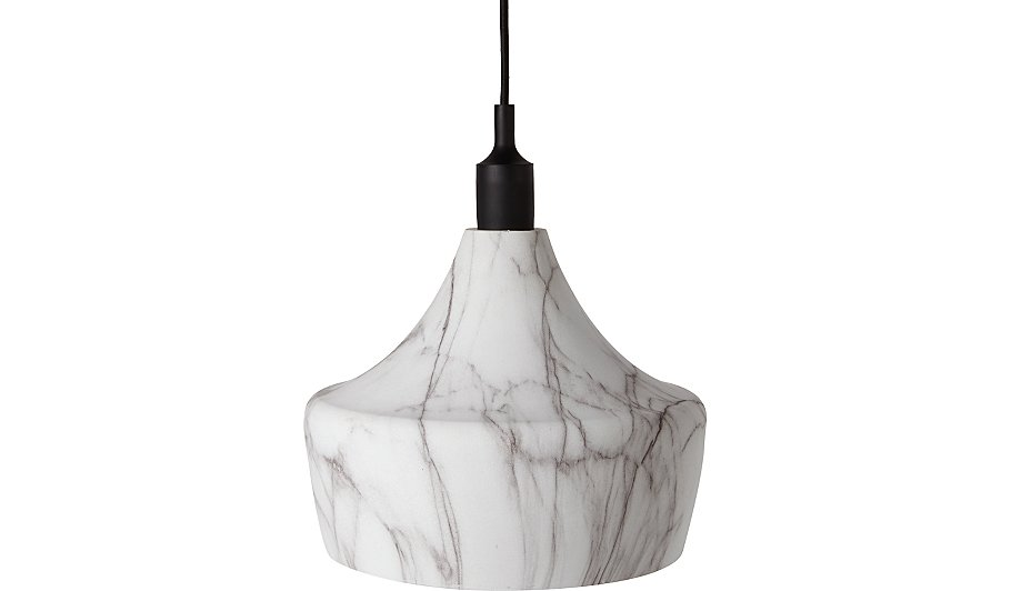 Marble effect dinner ceiling pendant home garden george marble effect dinner ceiling pendant features in our ceiling lighting shades collection mozeypictures Image collections