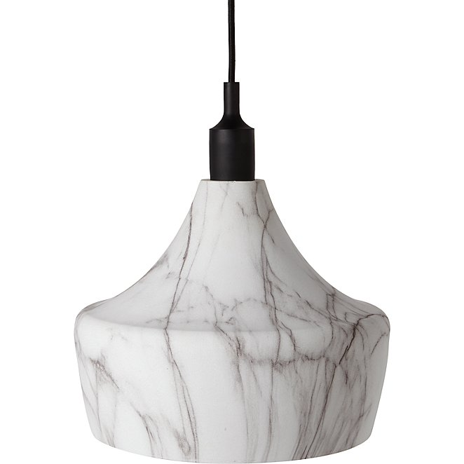 Marble Effect Dinner Ceiling Pendant
