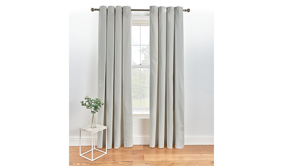 finesse dove panel grey curtain curtains jysk canada