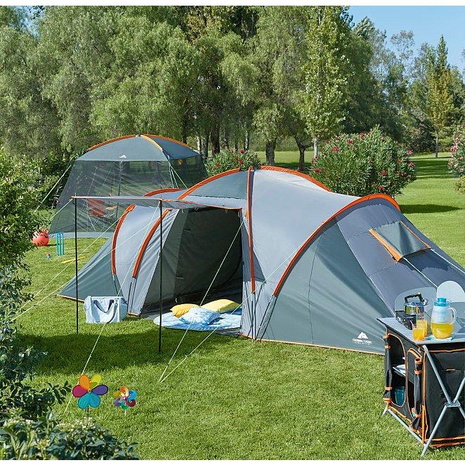 b8c5651c637 Ozark Trail Orange 6-person Dome Tent. Reset