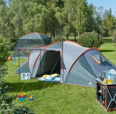 sc 1 st  George - Asda & Ozark Trail Orange 6-person Dome Tent | Home u0026 Garden | George