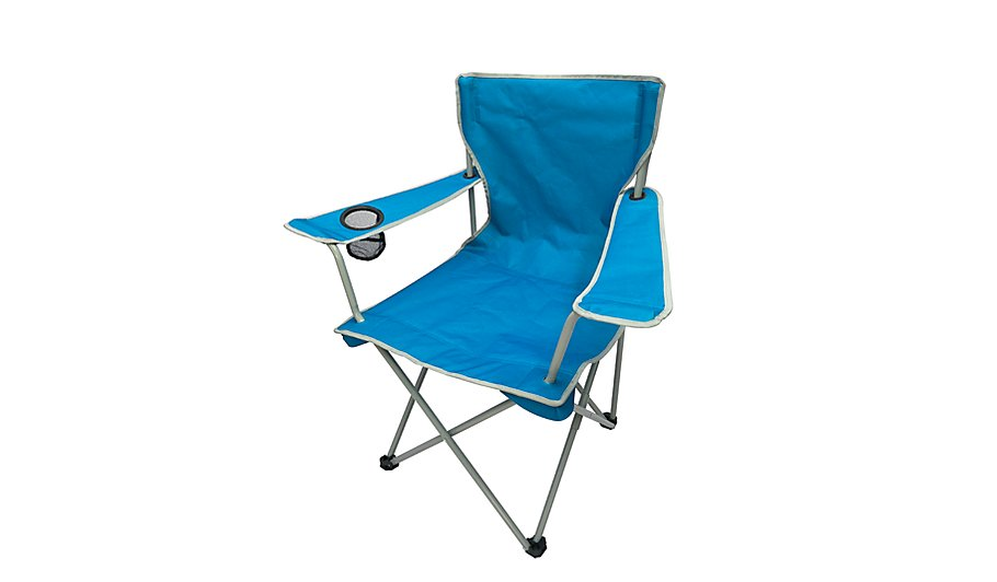 ozark trail blue camping chair home garden george