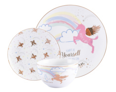 Dinnerware Sets Black Friday Part - 19: Unicorn 12 Piece Dinner Set
