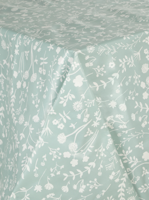 Merveilleux Floral Print Wipe Clean Tablecloth
