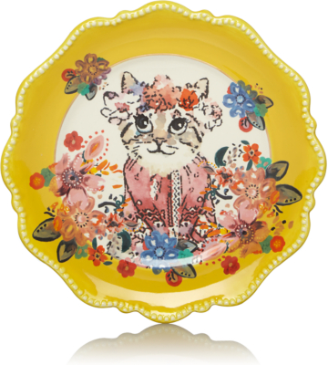 Decorative Cat Plate Sc 1 St George - Asda. image number 32 of bistro brights plates ...  sc 1 st  pezcame.com & Bistro Brights Plates u0026 Bistro Brights Fiesta Lime Green Rings ...