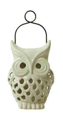 Cream Owl Shaped Solar Light Features In Our Garden Ornaments U0026 Accessories  Collection