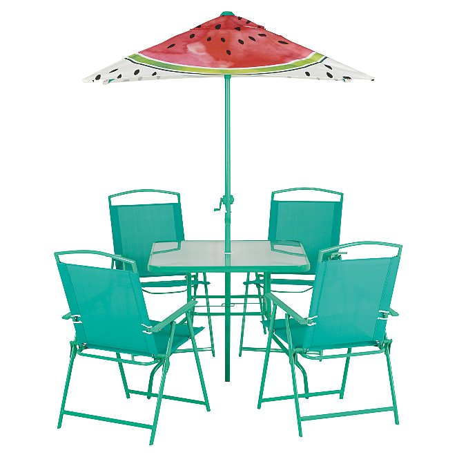 Watermelon 6 Piece Patio Set Reset