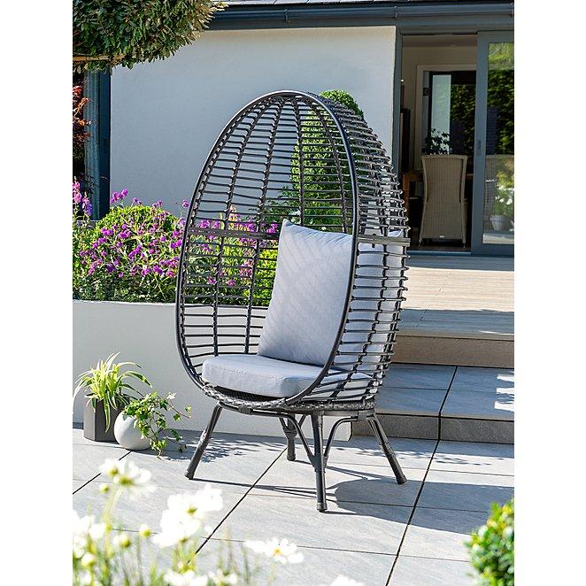 Novaro Garden Chair Outdoor Garden George At Asda