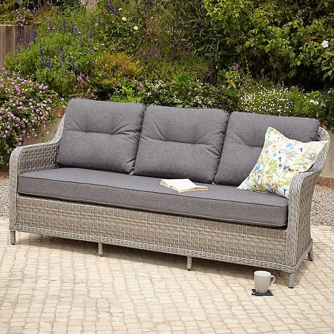 Venice 3 Seater Garden Sofa