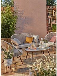 Nerja 4 Piece Garden Sofa Set