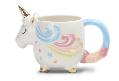 Unicorn-shaped Mug