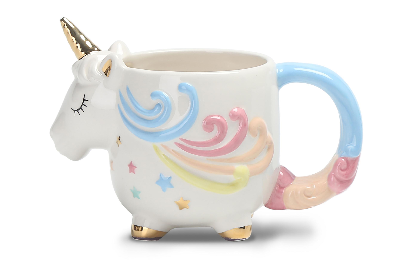 Unicorn Shaped Mug Home Garden George