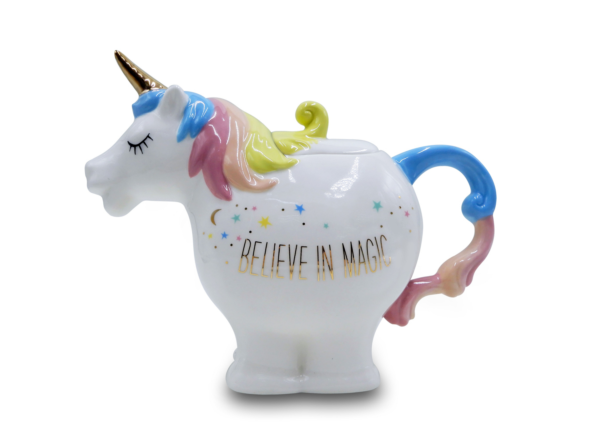 Unicorn Shaped Teapot Home Garden George
