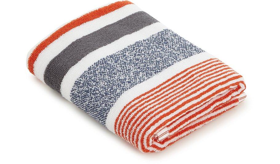 100 cotton striped hand towel home garden george. Black Bedroom Furniture Sets. Home Design Ideas
