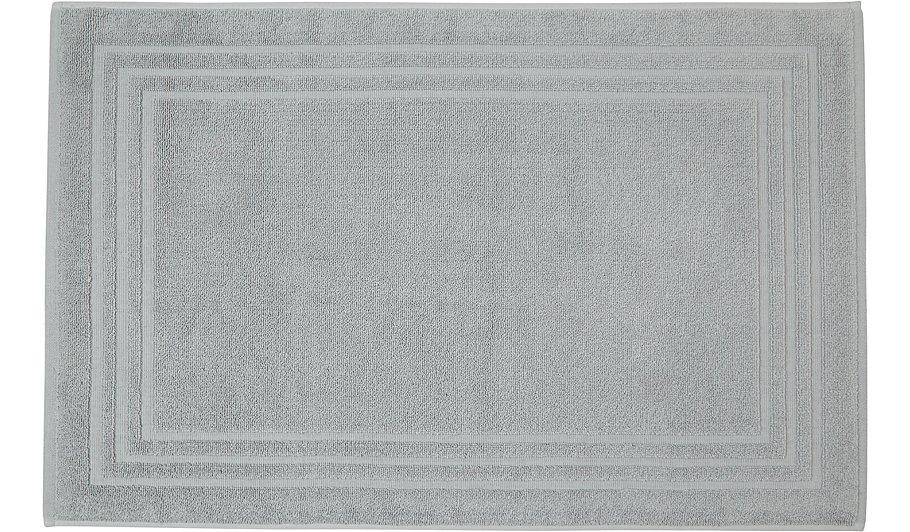 luxury grey 100 turkish cotton bath mat - Cotton Bathroom Mat