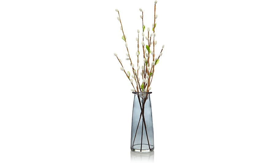 Pussy Willow Arrangement With Vase Home Garden George