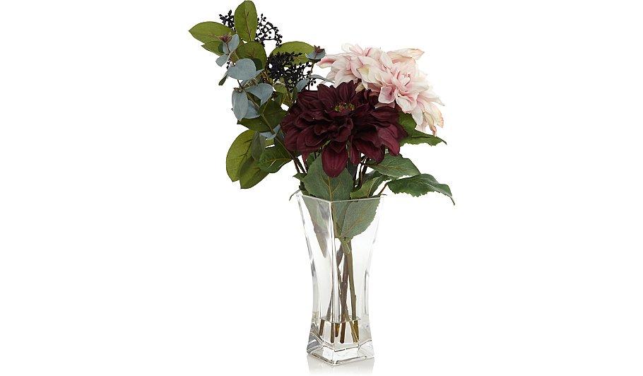Flower Arrangement in Glass Vase | Home & Garden | George
