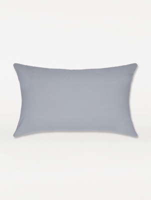 Pale Grey Pillowcase Pair