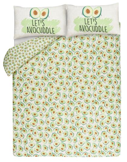 Avocado Print Reversible Duvet Cover Home Amp Garden George
