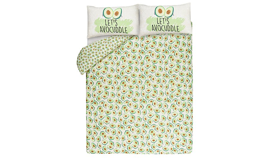 Avocado Print Reversible Duvet Cover Home Amp Garden George