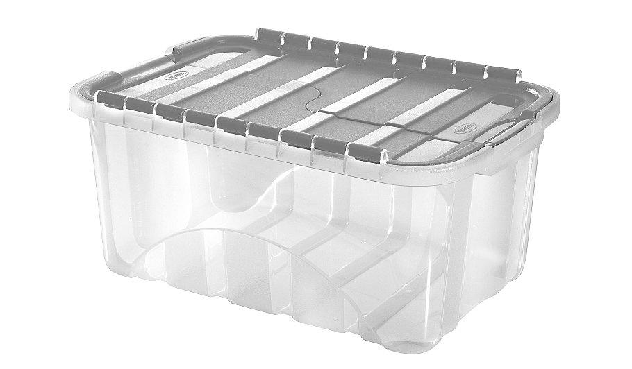 flip lid storage box 50l home garden george