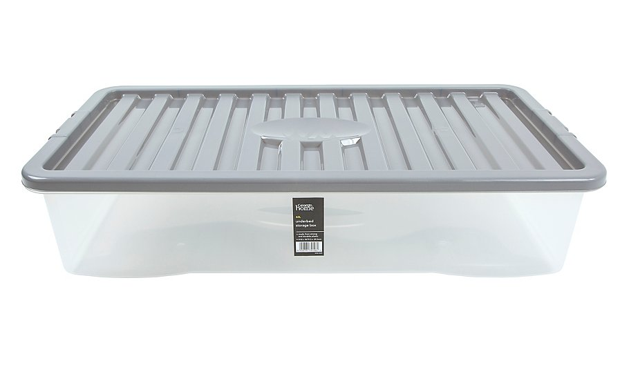 Underbed Storage Box With Lid - 42L