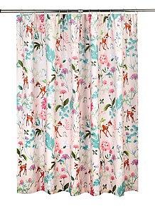 Disney Bambi Blackout Curtains 66x54 Inch