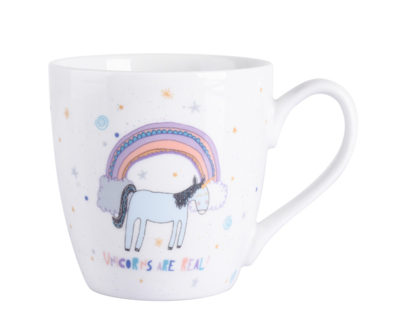 Unicorns Are Real Mug Home Garden George