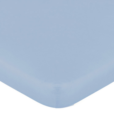Blue Fitted Sheet - Single