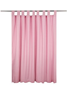 Pale Pink Curtains 66x54in